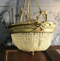 Brass Basket Shaped Light Fitting (5 of 11)