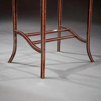 Unusual Early 20th Century French Thuya Wood Metamorphic Writing Table (11 of 13)