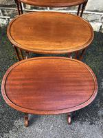 Antique Mahogany Nest of 3 Tables (5 of 7)