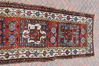 Antique Shassavan long rug 382x126cm (5 of 9)