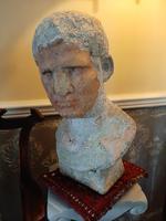19th Century Bust of Marcus Vipsanius Agrippa (8 of 9)