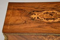 Antique Victorian Marquetry Top Console Table (6 of 12)