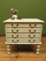 Small Gustavian Style Painted Chest, Crafting Chest of Drawers (8 of 15)