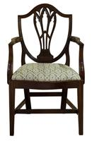 Pair of Georgian Carver Dining Chairs (4 of 7)