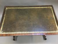 Regency Mahogany Writing Table (10 of 13)