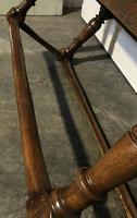 Very Early Oak Farmhouse Refectory Dining Table (22 of 31)
