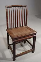 Good & Original Set of 6 Late 19th Century Oriental Chairs (3 of 5)