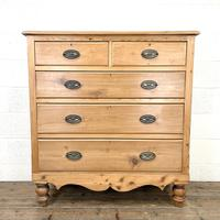 Victorian Pine Chest of Drawers (2 of 9)