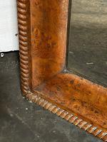 19th Century French Burr Walnut Wall Mirror (6 of 19)
