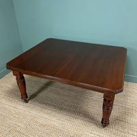 Large Victorian Walnut Antique Extending Dining Table (3 of 7)