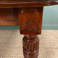 Large Victorian Walnut Antique Extending Dining Table (5 of 7)