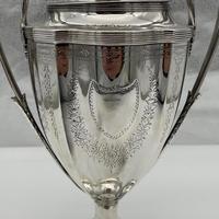 Antique George III Sterling Silver Tea Urn London 1796 Peter & Ann Bateman (7 of 12)