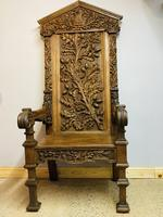 Gothic Revival Throne (6 of 20)