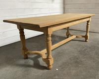 Nice Bleached Oak Farmhouse Dining Table (16 of 19)