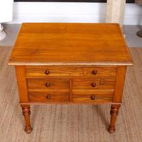 Walnut Chest of Drawers Victorian Side Cabinet 19th Century (5 of 11)