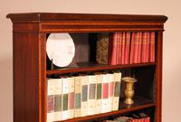 Open Bookcase in Mahogany and Inlays (11 of 13)