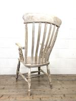 Victorian Ash and Elm Country Armchair (10 of 10)