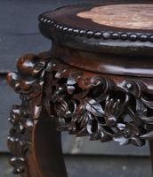 Excellent Quality 19th Century Chinese Rosewood Jardiniere / Plant Stand (6 of 7)