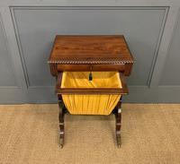 Regency Period Rosewood Work Table (5 of 15)