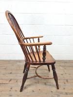 Antique Windsor Armchair in Elm & Ash (9 of 12)