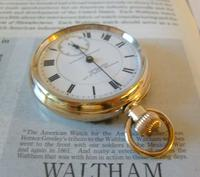 Antique Pocket Watch 1903 Special Waltham 10ct Rose Gold Filled Fwo (3 of 12)