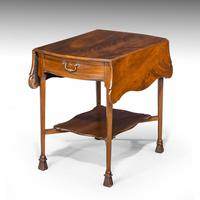 Most Attractive Late 19th Century Mahogany Pembroke Table (3 of 5)