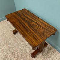 Beautiful Large Victorian Antique Rosewood Writing Table (3 of 6)