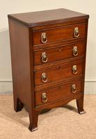 Pair of 19th Century Mahogany Chest of Drawers (4 of 6)