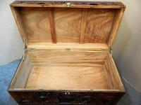 Oriental Carved Camphor Wood Trunk (5 of 7)