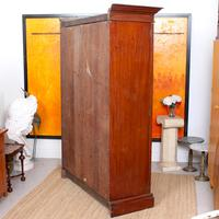 Wardrobe Walnut Mirrored Compactum Armoire Victorian (3 of 5)