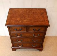 Small Proportioned Walnut Chest of Drawers (5 of 10)