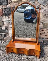Queen Anne Style Walnut Dressing Mirror (2 of 7)