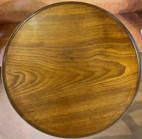 18th Century Red Walnut Tilt Top Occasional Table of smaller size (2 of 8)