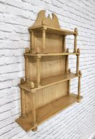 Victorian Pine Wall Shelves (2 of 4)