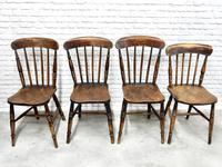8 x 19th Century Windsor Kitchen Chairs (5 of 9)