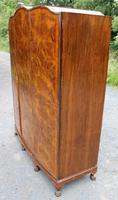 1940s Burr Walnut 3 Door Wardrobe Well Fitted (2 of 6)