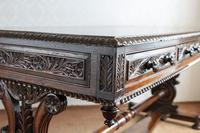 Hardwood Stretcher Table from the Late Regency Period (10 of 11)