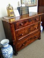 Burr Walnut Chest of Drawers (2 of 6)
