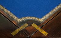 A Late Victorian Inlaid Rosewood Envelope Card Table (9 of 9)