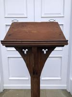 Victorian Oak Church Lectern c.1870 - Ecclesiastical Wedding Interest (12 of 16)