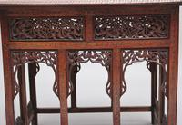 19th Century Carved Indian Occasional Table (9 of 9)