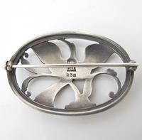 Beautiful Georg Jensen Vintage Silver Arno Malinowski Ibis Design Brooch (2 of 4)