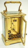 Fine Antique French 8-day Carriage Clock Timepiece - Interesting & Rare Size c.1870 (9 of 13)