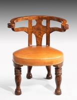 Rare William IV Period Desk or Library Chair (2 of 7)