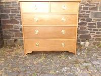 Arts & Crafts Oak Chest of Drawers (3 of 14)