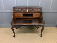 Maple and Co. Large Mahogany Cylinder Desk (13 of 25)