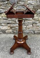 Victorian Mahogany Adjustable Duet Reading Stand (17 of 20)