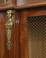French Antique Bookcase Second Empire Bibliotheque Cabinet (9 of 20)