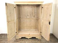 Victorian Pine Two Door Cupboard (2 of 11)