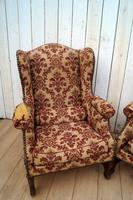 Pair of Chairs for re-upholstery (10 of 12)